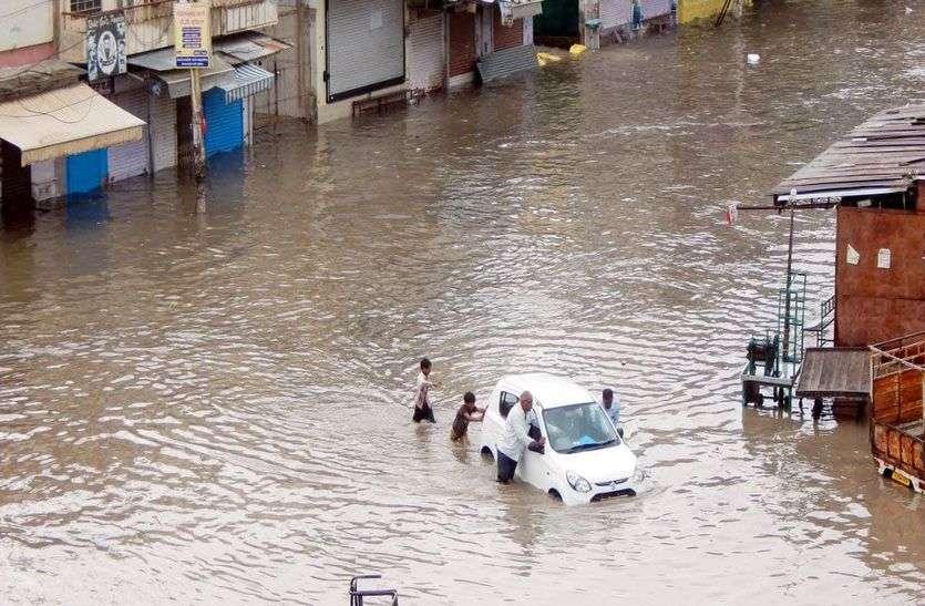 आज राजस्थान के 16 जिलों में भारी से अत्यंत भारी बरसात का अलर्ट