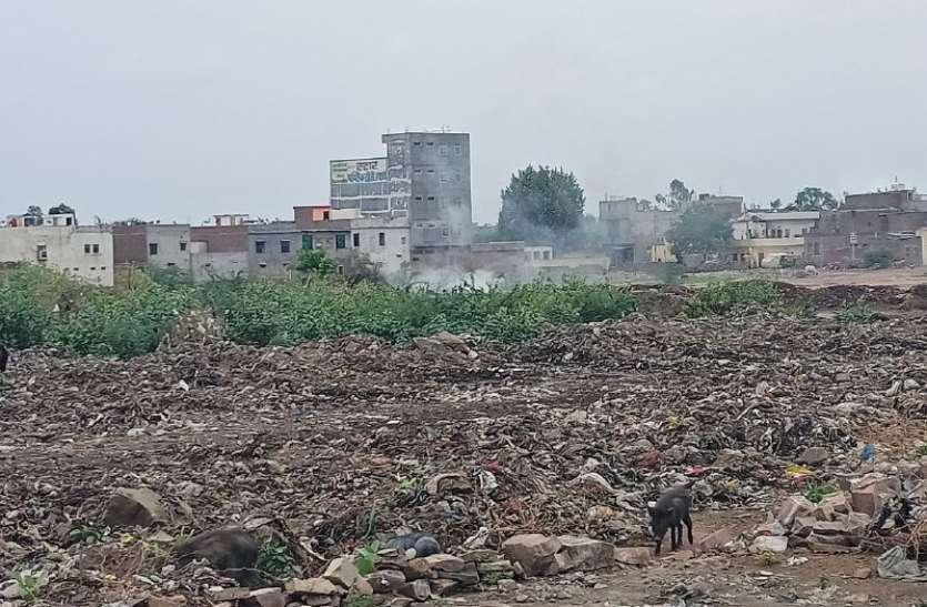 यूडीएच मंत्री के शहर में कचरा परिवहन में गड़बड़झाला