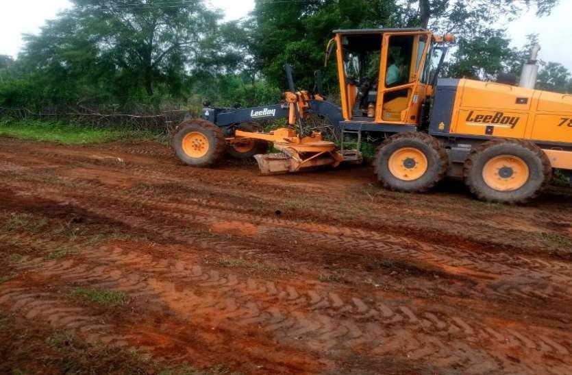 वन विभाग ने जारी की एनओसी, शुरू हुआ बायपास का काम