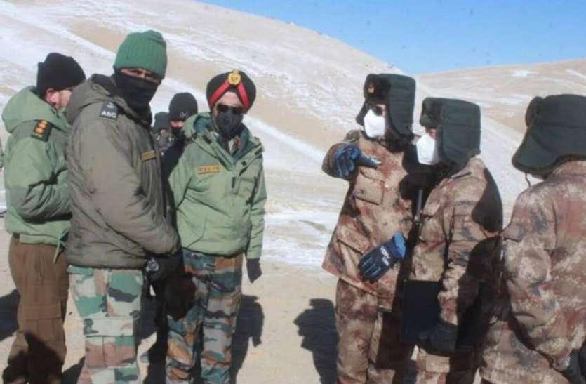 भारत-चीन के बीच 12वें दौर की कोर कमांडर स्तर की बातचीत आज, हॉट स्प्रिंग- गोगरा पर फोकस