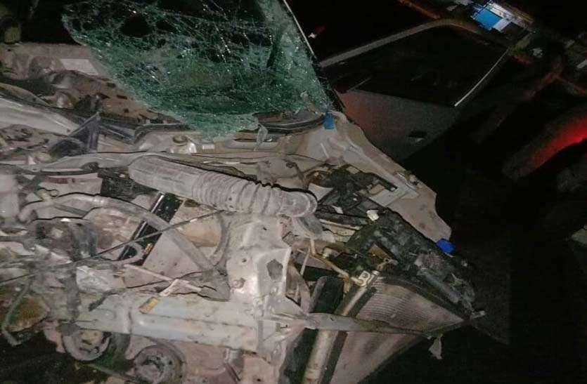 राजस्थान में जयपुर कोटा मार्ग पर दुर्घटना में चार दोस्तों की मौत, एक गम्भीर घायल
