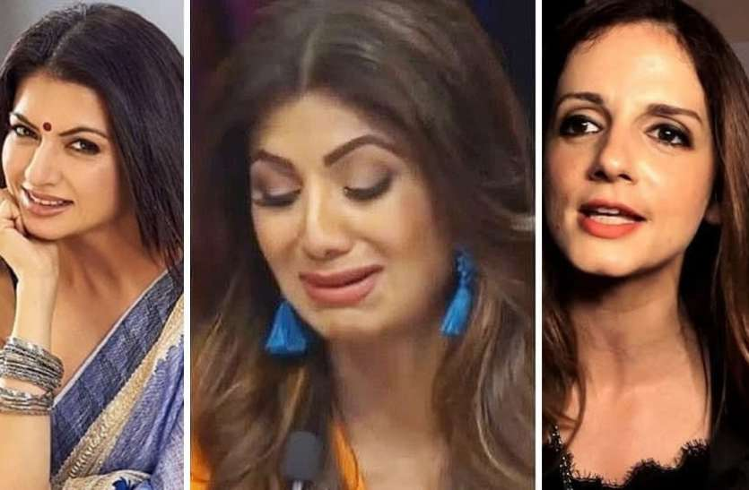 The heads of these actresses bowed in shame due to husband's antics
