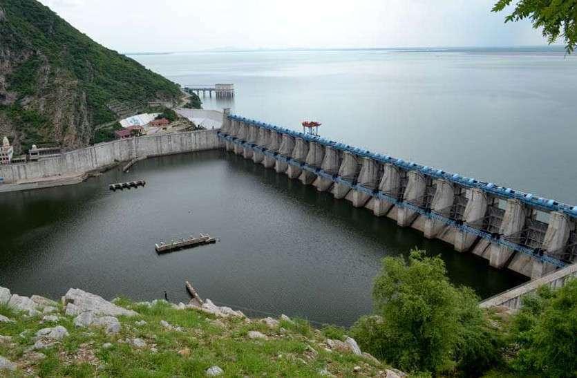 बीसलपुर बांध में एक दिन में आया 8 सेंटीमीटर पानी