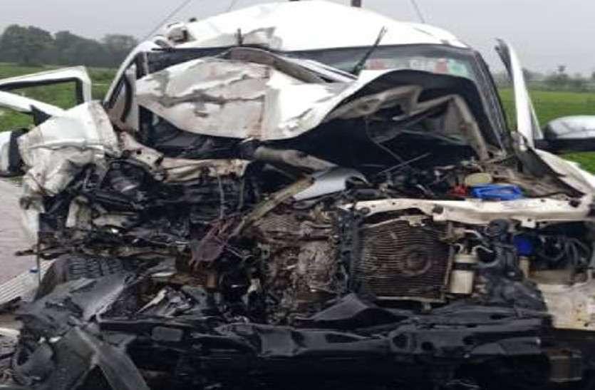 MP के गृहमंत्री के PA की कार ने राहगीर को रौंदा, 2 की मौत, 2 घायल