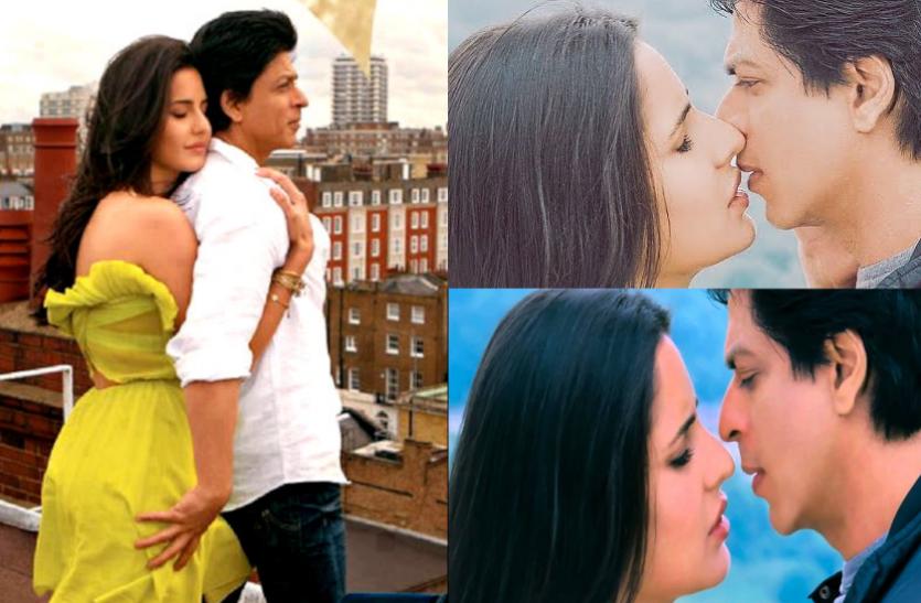 शाहरुख ने कैटरीना के साथ दिया अपना पहला ऑनस्क्रीन किस, लकी होने के सवाल पर एक्ट्रेस ने दिया ये जवाब
