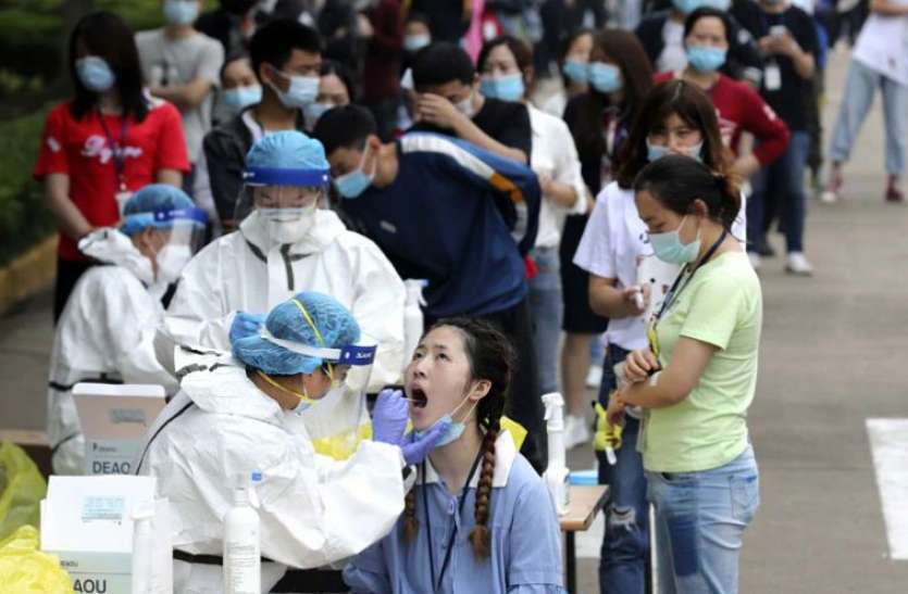 China wuhan to test all residents after first Covid 19 infection in a year