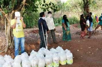Patrika Positive News : गरीबों की मसीहा बनी वैदेही तामण, आफ्टरनून वायस के बैनर तले जरूरतमंदों को बांट रही हैं अनाज और जरूरी सामान