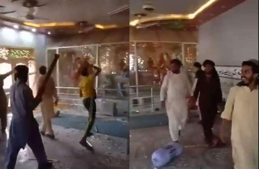 Attack on siddhi vinayak temple in bhong city of rahimyar khan Pakistan