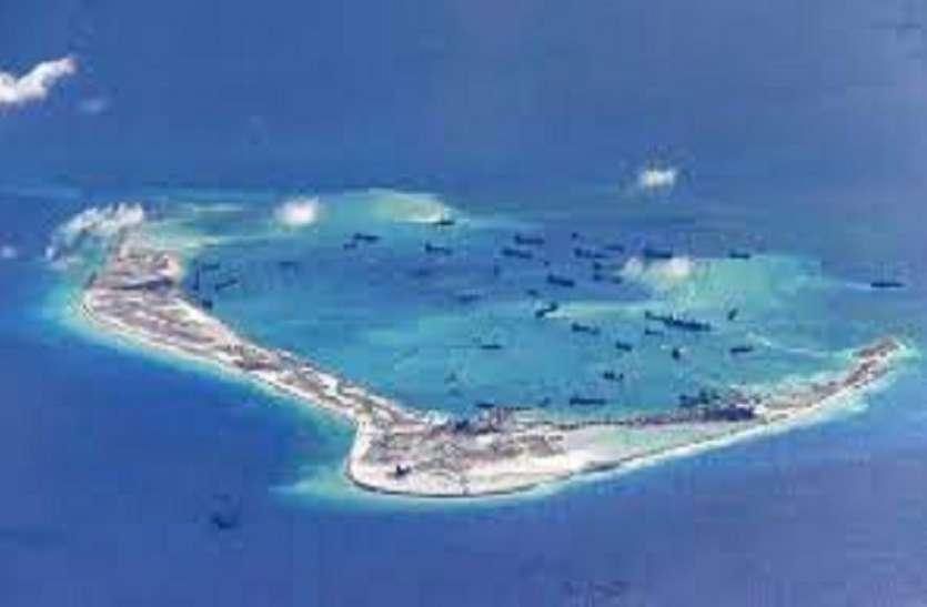 चीन को जवाब देने के लिए भारत ने साउथ चाइना सी में युद्धपोत को तैनात करा