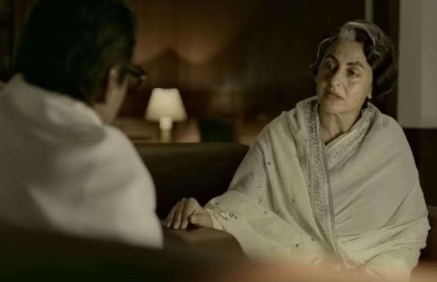 avantika akerkar as Indira Gandhi