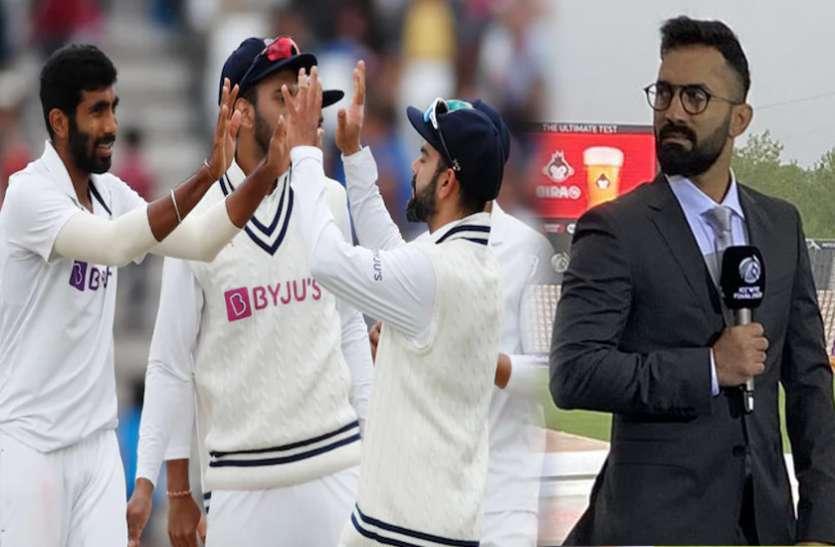 भारत-इंग्लैंड के बीच पहला टेस्ट ड्रॉ होने के बाद दिनेश कार्तिक ने दिया बड़ा बयान, क्या वरदान साबित होगा