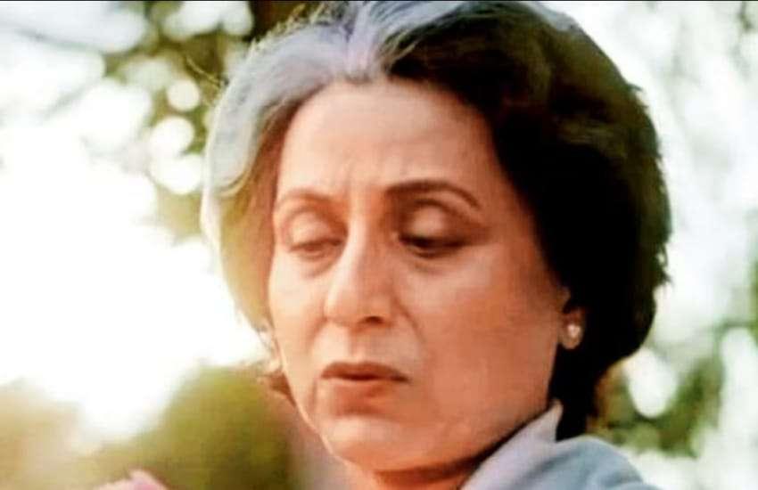 kishori shahane as Indira Gandhi