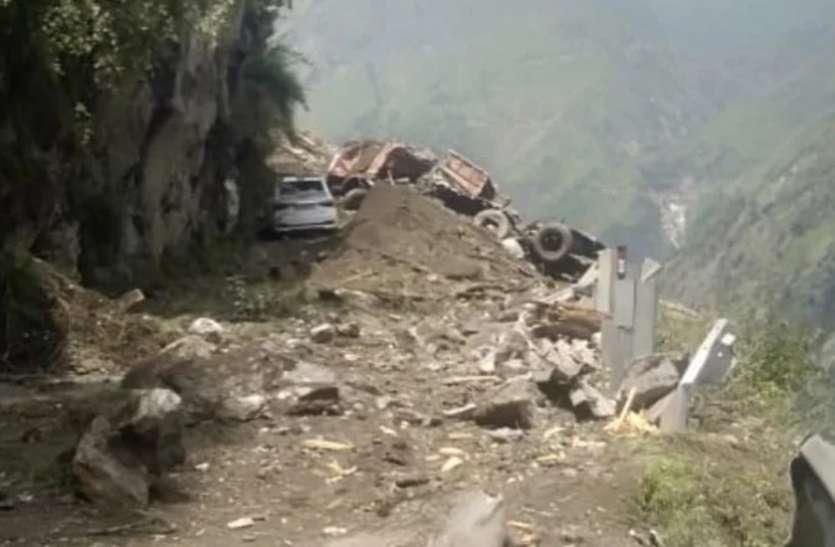 हिमाचल में भूस्खलन से बड़ा हादसा: अब तक 10 की मौत, 25 से अधिक लोगों के फंसे होने की आशंका