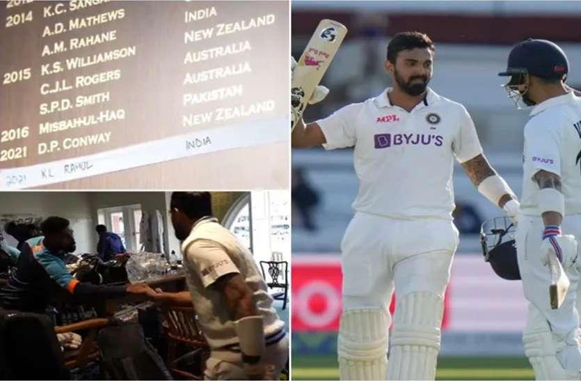 IND vs ENG: शतक लगाकर लौटे राहुल तो ड्रेसिंग रूम में किया ऐसे स्वागत, बेंच पर खड़े नजर आए सिराज, देखें वीडियो