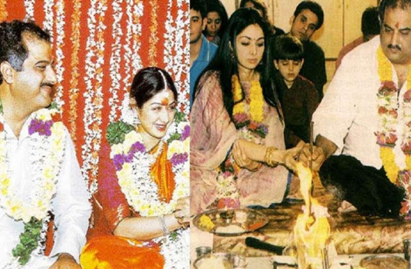 छोटी सी उम्र में श्रीदेवी ने रखा था फिल्म इंडस्ट्री में कदम, बोनी कपूर संग शादी पर हुआ था खूब बवाल