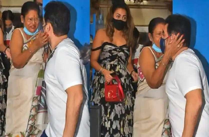 तलाक के बाद फिर Arbaaz Khan और Malaika Arora दिखे साथ, मां ने एक्स दामाद को किया KISS