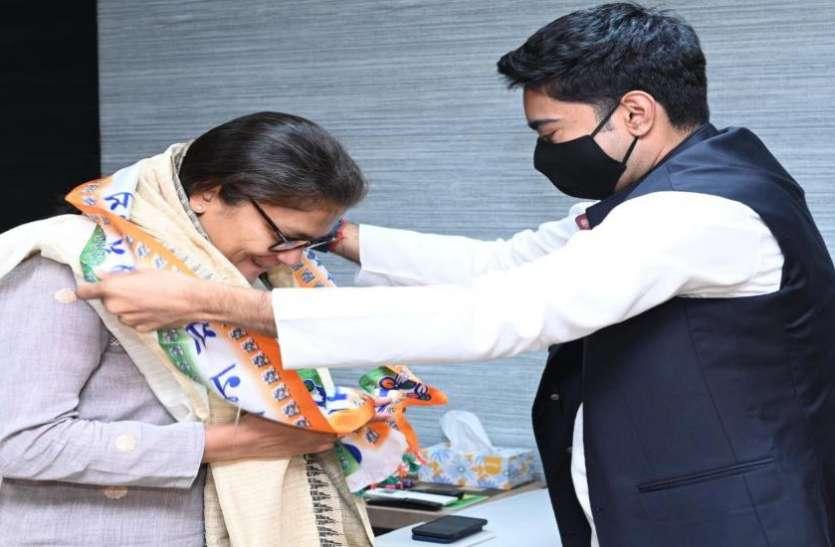 कांग्रेस नेता सुष्मिता देव TMC में शामिल, कल पार्टी से दिया था इस्तीफा