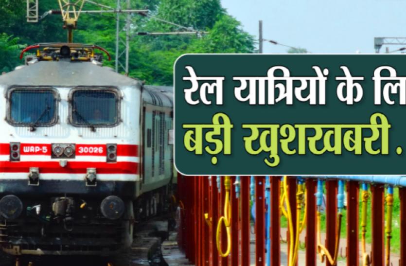 जिले के लोगों को मिली दो साप्ताहिक स्पेशल ट्रेन