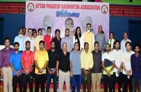 उ.प्र.बैडमिंटन संघ ने ओलम्पिक पदक विजेता पी.वी. सिंधु को किया सम्मानित