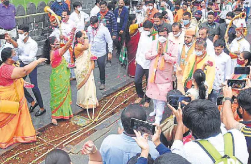 Mumbai: बीजेपी जन आशीर्वाद यात्रा में कोरोना प्रोटोकॉल का उल्लंघन, 7 एफआईआर दर्ज