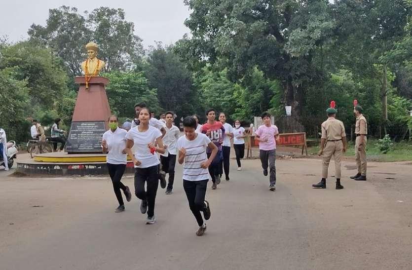 फिट इंडिया स्वतंत्रता की दौड़ का हुआ आयोजन