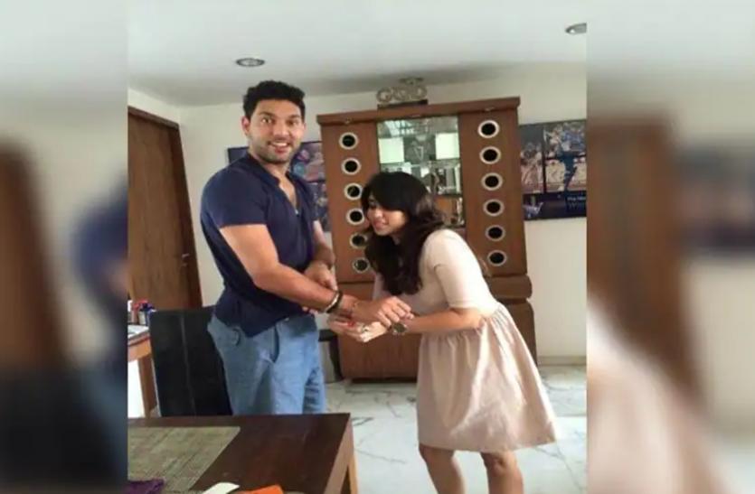 Raksha Bandhan 2021: रोहित शर्मा की वाइफ रितिका को बहन मानते हैं युवराज सिंह, हर वर्ष बंधवाते हैं राखी