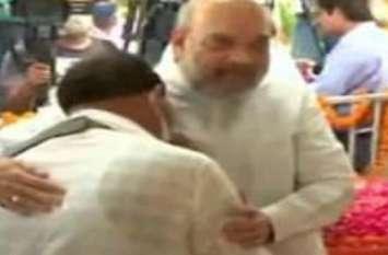 Kalyan Singh Live: जब अमित शाह काे देख फफक-फफकर रो पड़े बेटे राजबीर