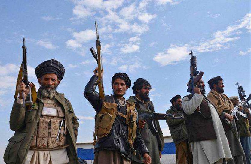 अमरीका के जाने के बाद इस खास तरीके से तालिबानियों ने मनाई खुशियां, कहा- बधाई हो अब हम आजाद हैं