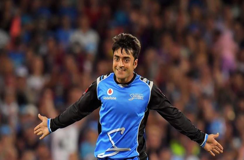 अफगानिस्तान के क्रिकेटर राशिद खान ने टी20 ब्लास्ट में की बेहतरीन बैटिंग, टीम को पहुंचाया फाइनल्स में, लगाया हेलिकॉप्टर शॉट