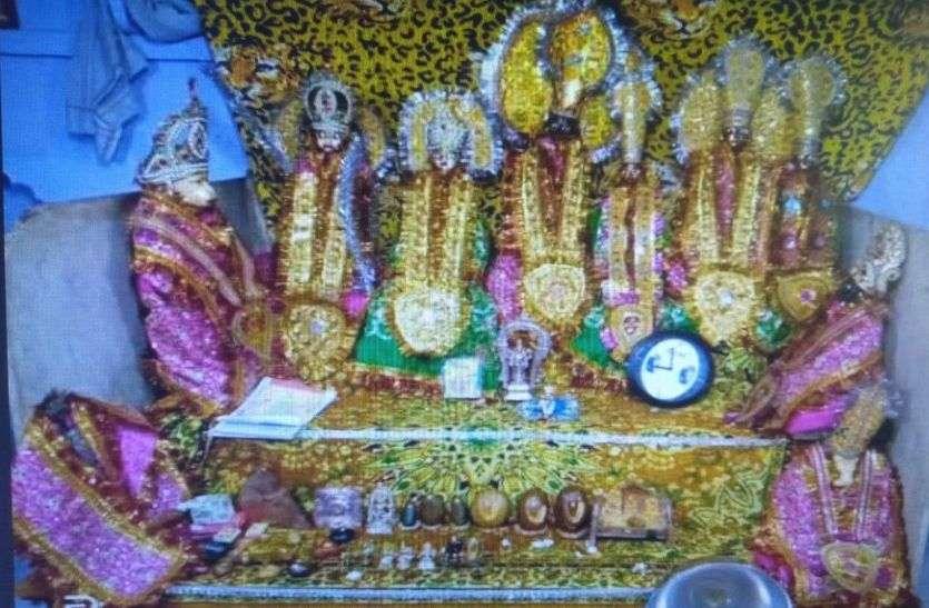 कृष्ण जन्मोत्सव की तैयारियां जोरो पर, प्राचीन मंदिरों में होने लगी सजावट