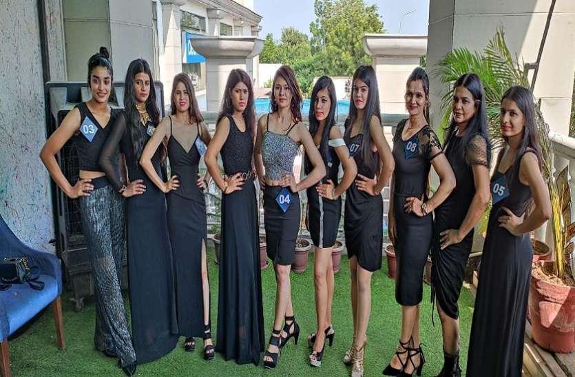 ब्लैक वेस्टर्न ड्रेस कोड में मॉडल्स ने की कैटवॉक, फिनाले में सलेक्शन के लिए दिखा उत्साह