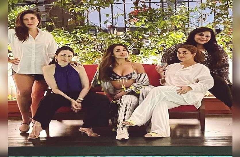 वीकेंड पर करीना कपूर खान ने की गर्ल गैंग संग खूब मस्ती, शेयर की पार्टी की खूबसूरत तस्वीर