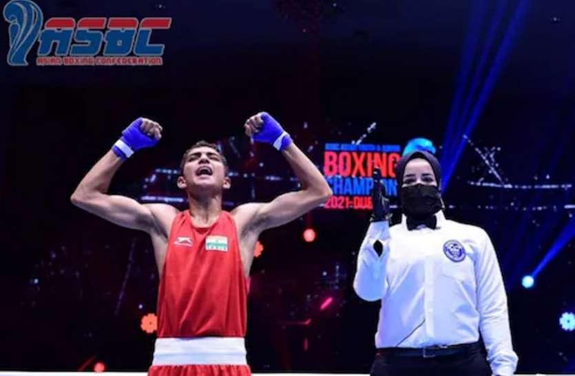 रोहित चमोली ने दुबई में लहराया तिरंगा, बॉक्सिंग चैंपियनशिप में जीता स्वर्ण पदक