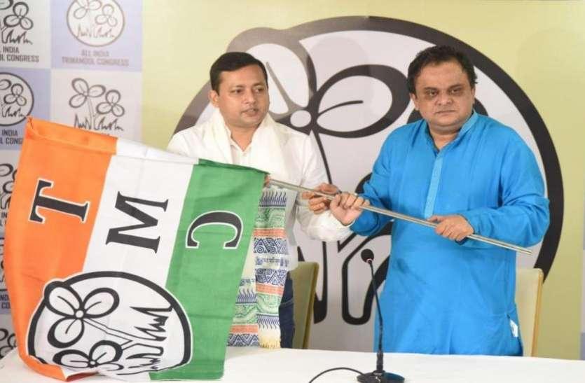 पश्चिम बंगाल में BJP को बड़ा झटका, विधायक तन्मय घोष TMC में शामिल
