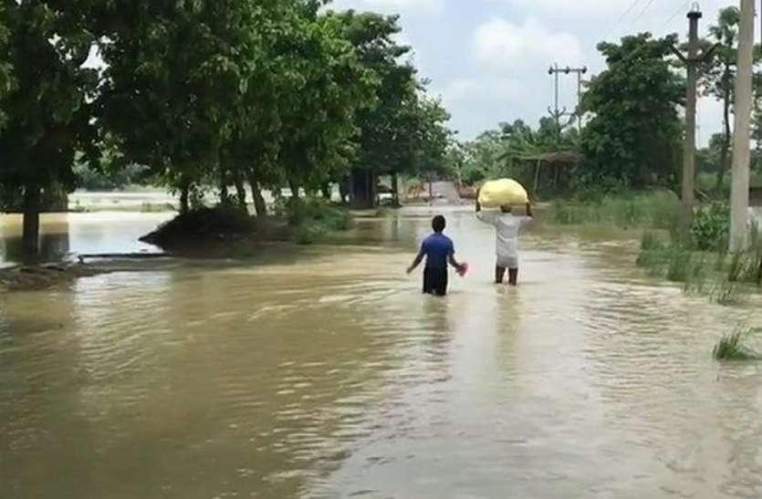 सीएम ने दिये जल शक्ति मंत्री को बाढ़ प्रभावित क्षेत्रों में भ्रमण के निर्देश