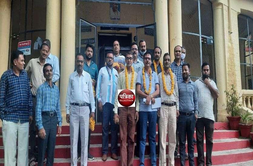राजस्थान शिक्षा सेवा व्याख्याता संघ(आरईएसएलए) की सिरोही ब्लॉक कार्यकारिणी गठित