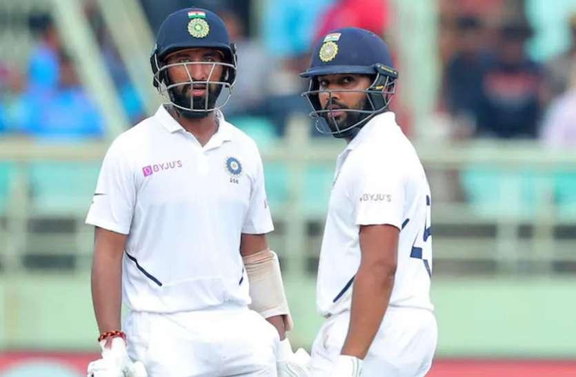 भारतीय टीम के लिए बढ़ी चिंता, फील्डिंग करने नहीं उतरे रोहित और पुजारा, बीसीसीआई ने दिया अपडेट