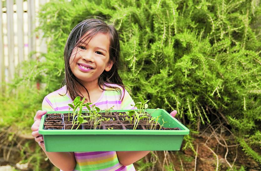 National Nutrition Week 2021: बच्चे पौष्टिक खाना और उगाना  सीखेंगे, किचन गार्डन से जोड़ें