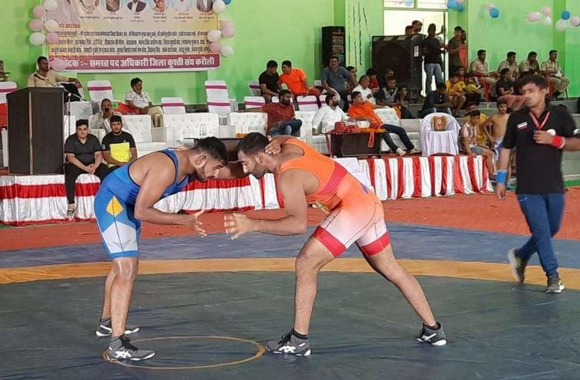 करौली में राज्य स्तरीय कुश्ती प्रतियोगिता में इन्होंने जीते स्वर्ण और रजत पदक