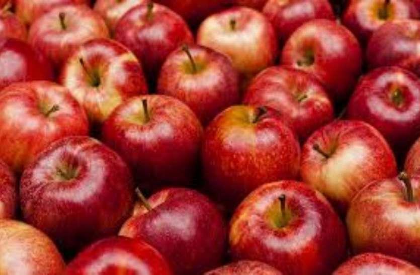 महीने भर पहले सेब बिक रहा था 250 रुपए किलो, अब पहुंचा 40 से 100