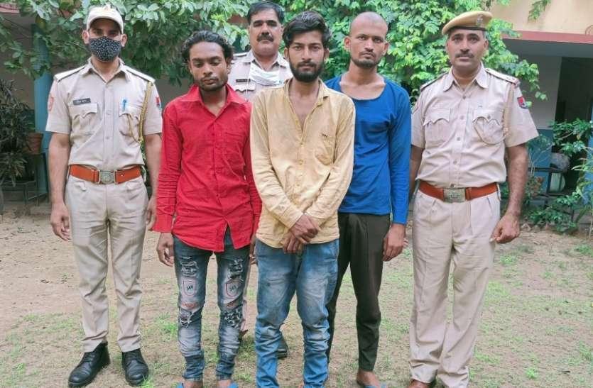 चोरी करने वाले दो बदमाश गिरफ्तार