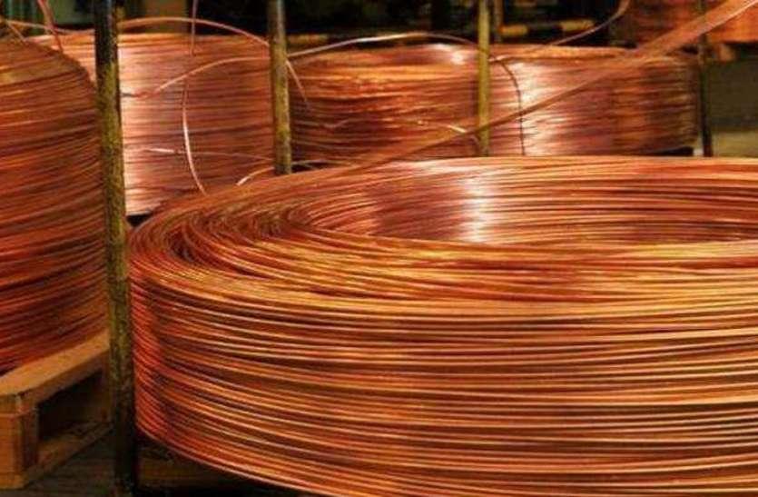 Copper Rate Copper Price : घरेलू हाजिर बाजार में लगातार गिर रहे तांबे के दाम, जानें आज के Copper Price