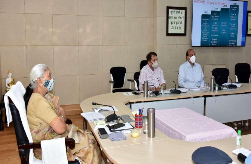 फिरोजाबाद में फैले अज्ञात बुखार की जानकारी और निदान के लिए टीम गठित की जाए - आनंदीबेन पटेल