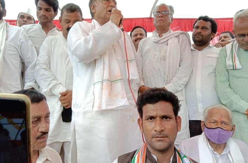 लक्ष्मण सिंह की प्रशासन को चुनौती : सुनवाई नहीं तो प्रशासन के खिलाफ जाएंगे कोर्ट