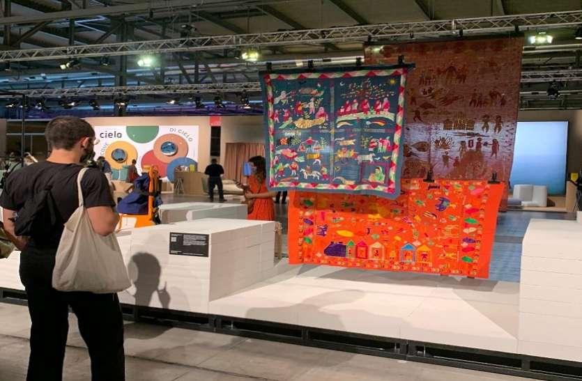 एनआईडी के दो विद्यार्थियों की डिजाइन मिलान प्रदर्शनी में हुई प्रदर्शित