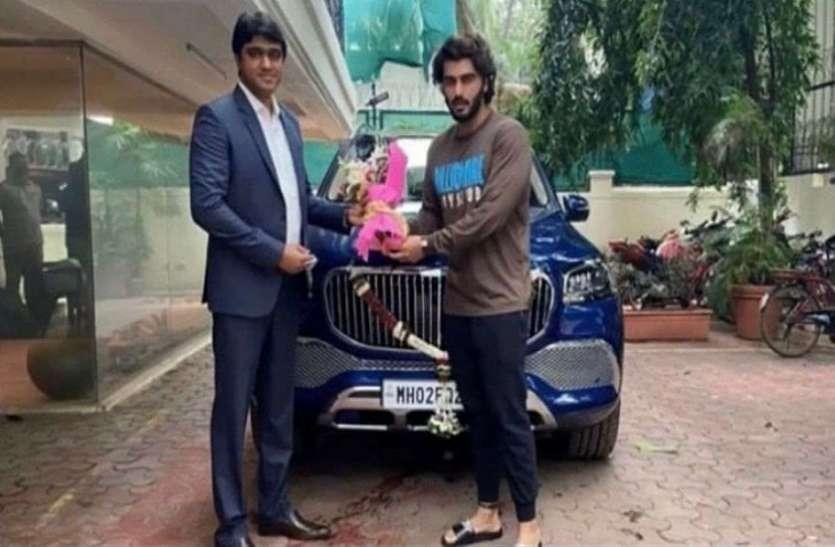 Arjun Kapoor ने खरीदी नई स्वैंकी लग्जरी कार, गाड़ी का नंबर उनके है दिल के करीब