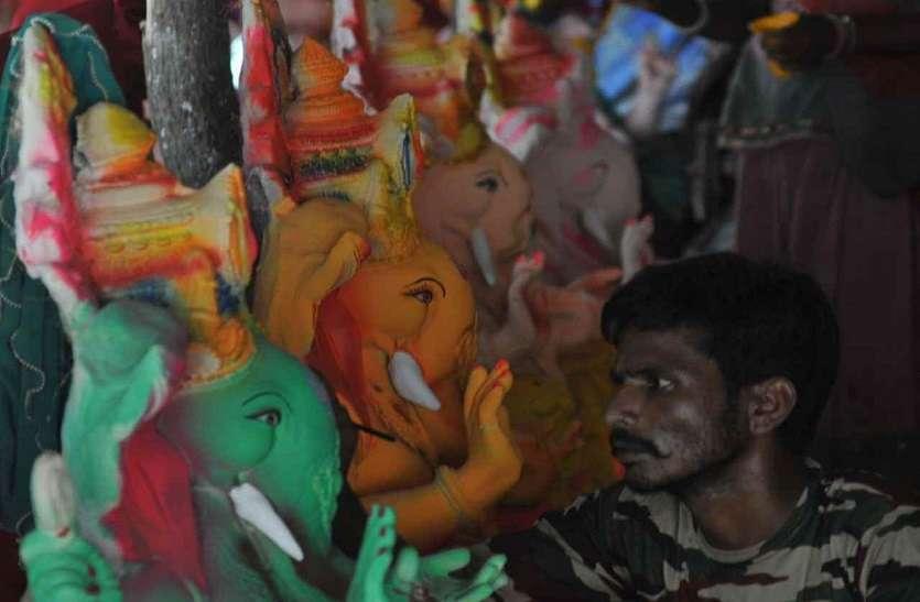 ganeshji idol making