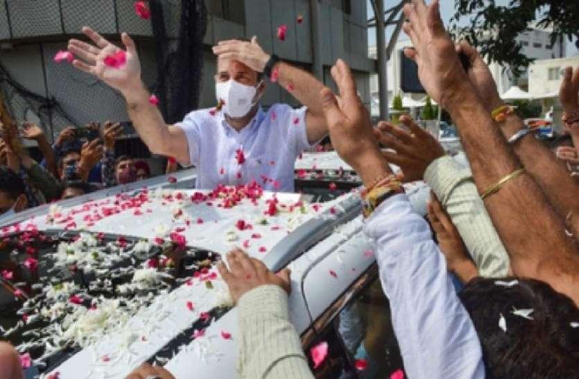 राहुल गांधी के वैष्णो देवी के दर्शन करने पर बीजेपी के तंज का सुरजेवाला ने दिया जवाब, जानिए क्या कहा