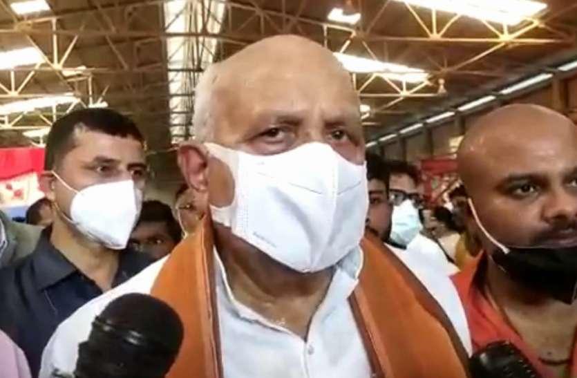 कृषि मंत्री सूर्य प्रताप शाही का बयान कहा- विपक्षी दल किसानों को उकसा रहे, यूपी में नहीं कोई आंदोलन