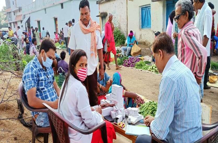 मुख्यमंत्री हाट बाजार क्लीनिक योजना से अब तक 26 सौ मरीज हुए लाभान्वित